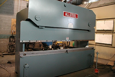 An Allsteel Machinery Photo Gallery